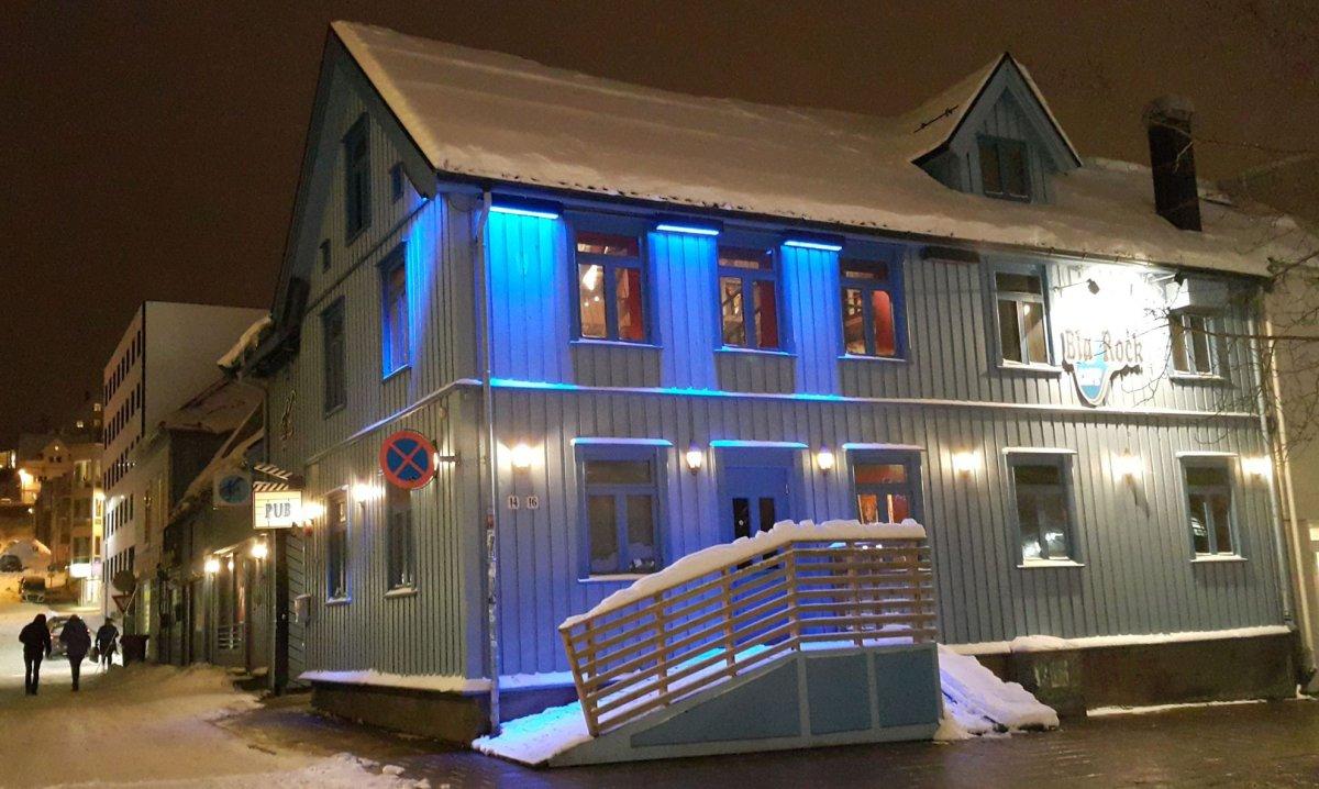 Bla Rock Café : Tromsø Norway