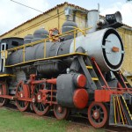 Trinidad Railway Train Station Cuba Steam Engine Locomotive
