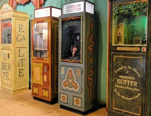 Wookey Hole Victorian Penny Machine Arcade