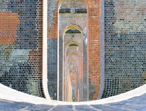 River Ouse Valley Viaduct Balcombe London To Brighton Railway