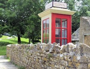 Tyneham Ghost Village Telephone Box
