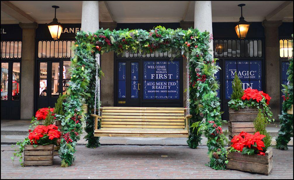 Covent Garden London Christmas