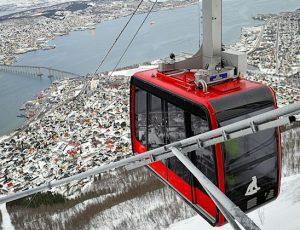 Fjellheisen Cable Car Tromsø Norway