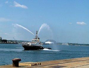 SS Shieldhall Southampton