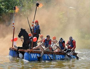 Ouseday River Ouse Raft Race Lewes